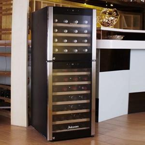 KRC-73DZF 73-Flasche Freestanding Stil Kompressor Weinkühler -